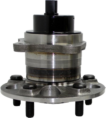 FWD Models Only New Rear Left Wheel Hub and Bearing Assembly for 04-07 Highlander FWD - [04-06 RX330 FWD] - 07-09 RX350 FWD - [06-08 RX400h FWD]