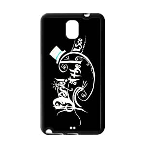 Panic! at the Disco Hard Coated Cell Phone Cover Case for Samsung Galaxy Note 3 Designed by Windy City Accessories