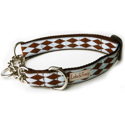 "Joker Martingale Dog Collar Size: 1"" Medium"