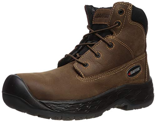 Baffin Mens Men's Arvin Industrial Boot, Brown, 8.5 Medium US (Baffin Chemical Boots)