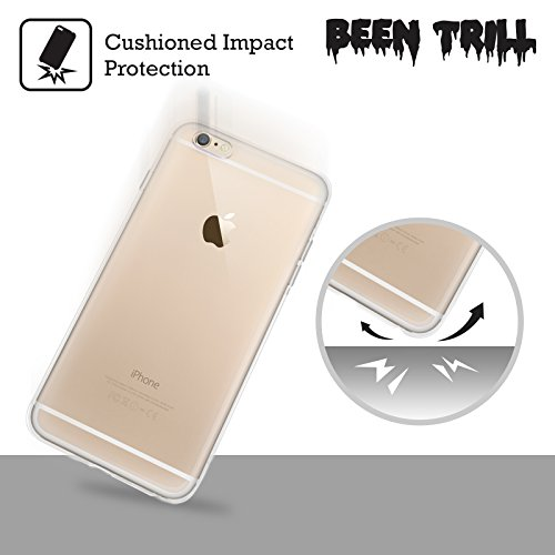 Official Been Trill Six Tone Black And White Soft Gel Case for Apple iPhone 6 Plus / 6s Plus