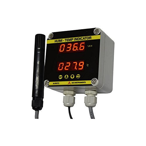Server Room Temperature and Humidity Monitor along with Calibration Certificate