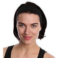 Running Yoga Headbands for Women & Men - Moisture Wicking...