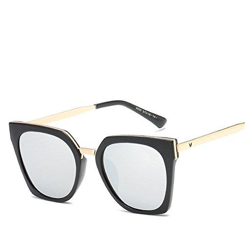 Chahua Lunettes de soleil brillant fashion lunettes rétro lunettes uv, haute-E