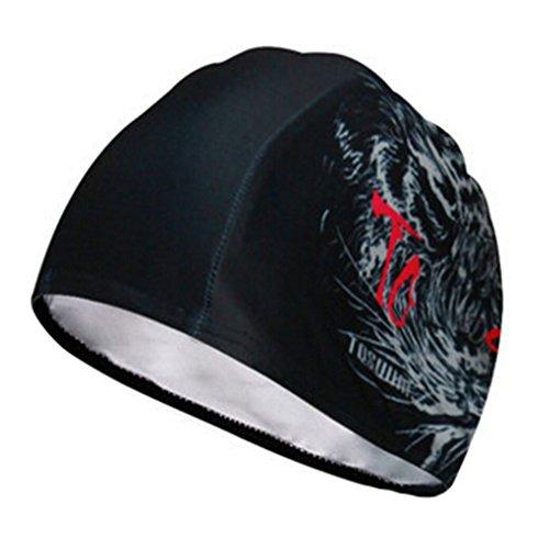 Mode unisexe Bonnet de bain bonnet de bain Swim Hat Protector cheveux ##6