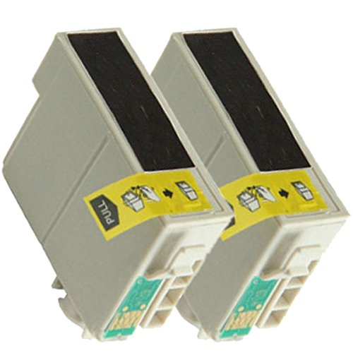 2 New Remanufactured T127120 127 T1271 Extra High Capacity Black Ink Cartridges WorkForce 60 545 630 633 645 840 850 845