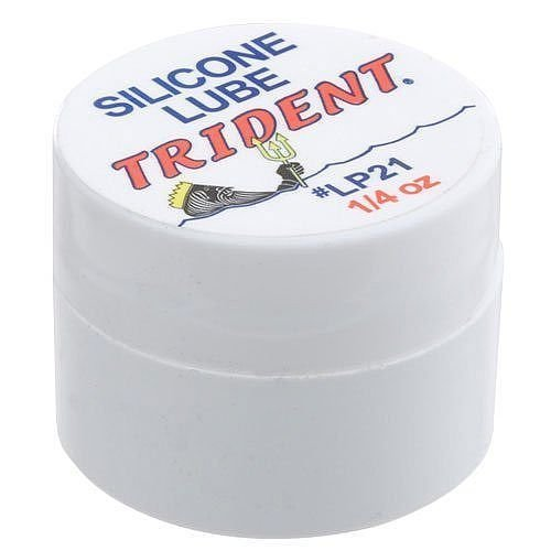Trident Silicone Grease 1/4 oz. Jar (Silicone Grease For Fountain Pen)
