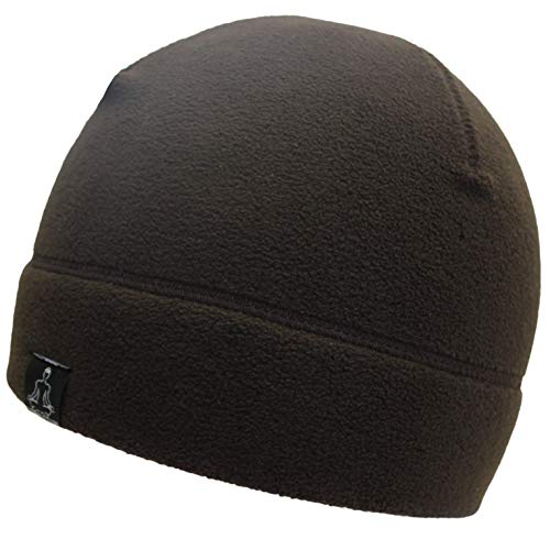 Brown Beanie Fleece - Temple Tape Tactical Fleece Watch Cap Beanie Deep Brown