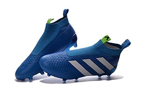 アンビエントファセットキャベツerikdicken靴メンズAce 16 + PURECONTROL Footballブルーサッカーブーツ