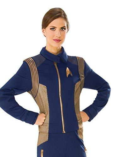 Rubie's Women's Star Trek Discovery Operations Costume Uniform, Copper, Small -