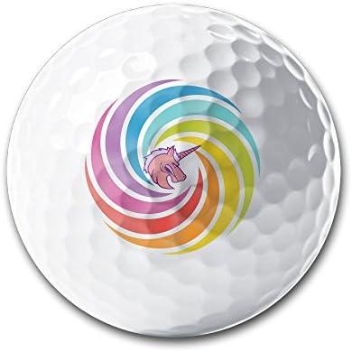 Angry cabeza de unicornio en Rainbow blanco elástica pelotas de ...