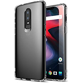 huge selection of b049f d11f3 Amazon.com: Ringke [Fusion] Compatible with OnePlus 6 Case Crystal ...