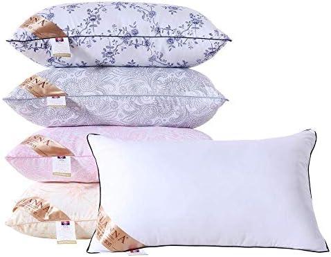 ZSDFQC Oreiller de Voyage Étudiant en Velours Plume de Coeur Oreiller Oreiller Oreiller Emballage + Pillow_42 aléatoire * 70cm Oreiller Ergonomique