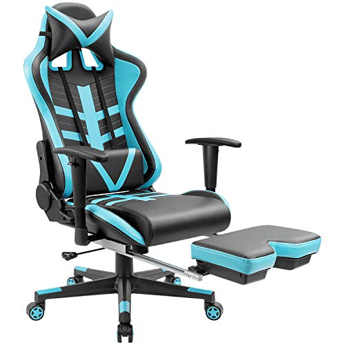Homall Gaming Chair Ergonomic High-Back Racing Chair Pu Leat