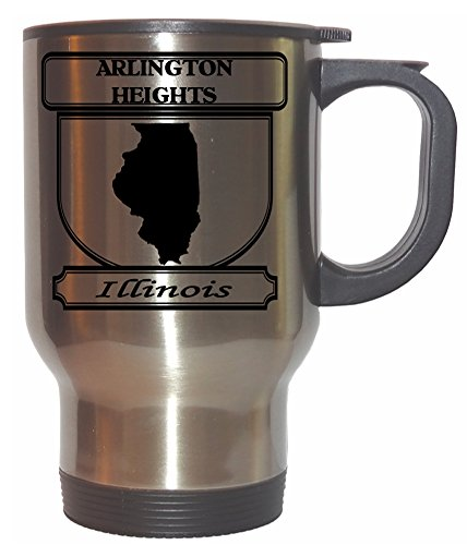 Arlington Heights, Illinois (IL) City Stainless Steel Mug (City Of Arlington Heights Il)
