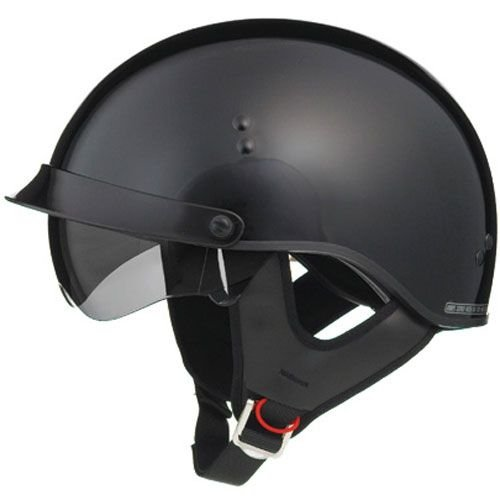 GMAX GM65 Full Dress Adult Cruiser Motorcycle Helmet - Gloss Black / Small