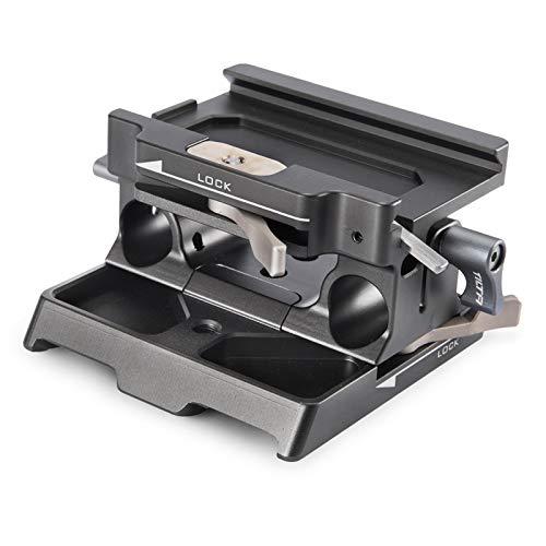 TILTA TA-BSP-15 15mm LWS Baseplate for BMPCC 4K Cage Blackmagic Pocket Cinema Camera 4K Rig (Tilta Gray)