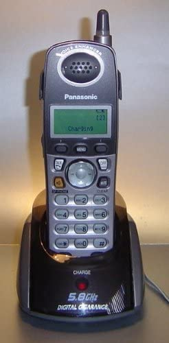 Panasonic KX-TGA542 M 5.8 GHz inalámbrico teléfono: Amazon.es: Electrónica