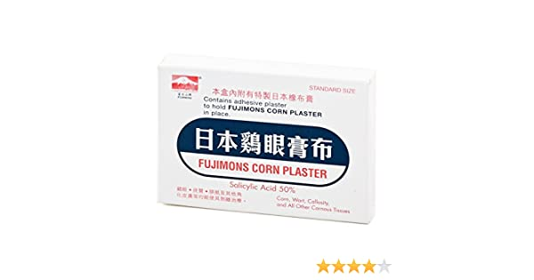 Amazon Fujimons Corn Remover Plaster Adhesive Plaster Can Be