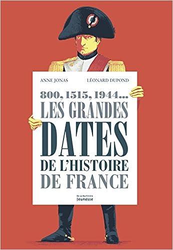 Livre Les grandes dates de l'histoire de France : 800, 1515, 1944... pdf epub