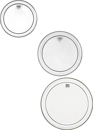 Pinstripe Remo Head Clear - Remo PP1720-PS Clear Pinstripe Tom Drumhead ProPack