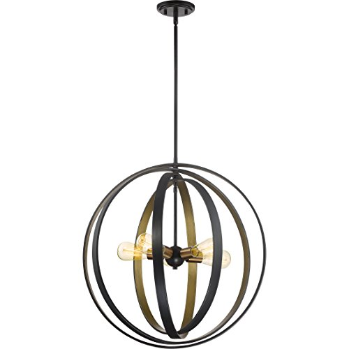 Large Circular Pendant Light - 1