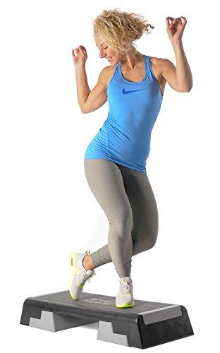 Reebok Step - Der Klassiker ist zurück! Stepper Cardio Aerobic Brett grau