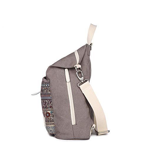 borsa nazionale Sweety 0 38 Borsa da 0 donna 30 0 cm doppia Zaino cm tracolla 13 vento di tela cm a Ladies A vFF7qH