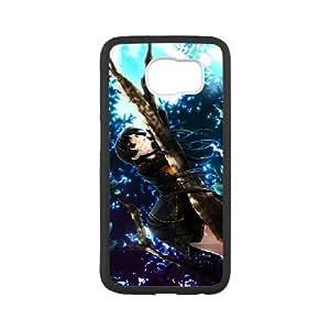 samsung_galaxy_s6 phone case Black Bleach SSJ0474349