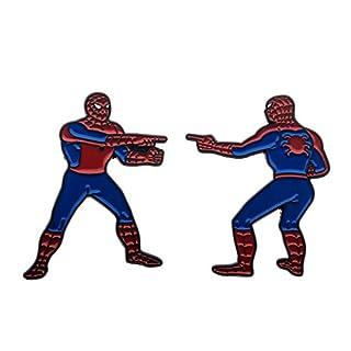Marvel The Spider-Man Double Identity Enamel 2 Pin Set (Amazon Exclusive)