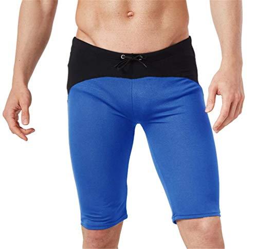 Cdon Men's Mesh Swim Trunks Boxer Brief Surf Beach Swimsuit -