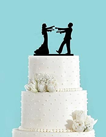 76dinahjordan Zombie Braut Und Brautigam Fur Hochzeitstorte Topper