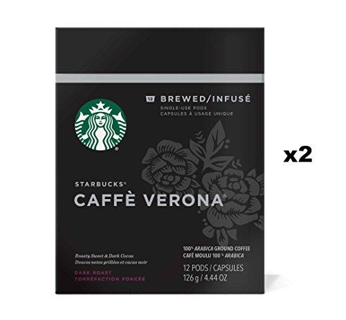 Starbucks Verismo Caffe Verona Coffee Pods (24 Count) ()