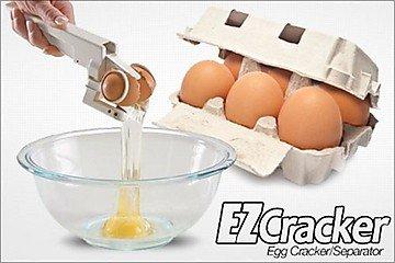 Easy Egg Cracker Egg Separator (White) - 8