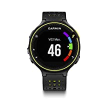 Garmin Forerunner 235 GPS Watch with Heart Rate Monitor, Black/Gray