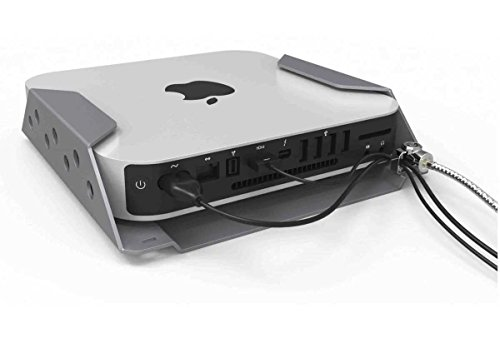 Maclocks MMEN76 Mac Mini Security Mount Enclosure (Silver) by Compulocks (Image #2)