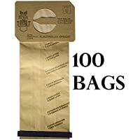 Electrolux Style U Discovery Upright Vacuum Cleaner Bags - 100 bags