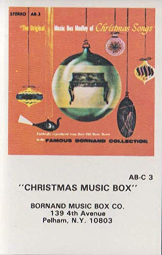 Christmas Music Box -The Original Music Box Medley of Christmas Songs Cassette Tape ()