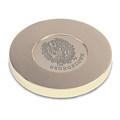 - AdSpec NCAA Georgetown Hoyas Adult Paperweight, One Size, Gold