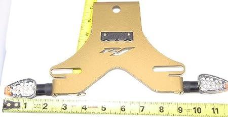 2004-2014 Yamaha R1 Fender Eliminator Tail Tidy Black Kit with 2 Turn Signals /& Plate Light
