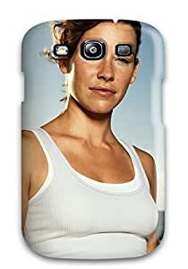 High Quality Evangeline Lilly Ocean Blue Sky White Multiple Emmy Awardwinning Oceanic Air Flight Pacific Island O People Movie Case For Galaxy S3 / Perfect Case