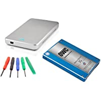 OWC 250GB SSD DIY Drive Upgrade Kit: 2.5 250GB Mercury Electra 3G SSD 7mm, OWC Express USB 3.0 Enclosure, and OWC 5 Piece Toolkit