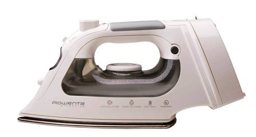 Rowenta DW1070 Cord Reel Steam Iron Stainless Steel Soleplate with Auto-Off, 1500-Watt, Brown (Rowenta Effective Cord Reel Iron compare prices)
