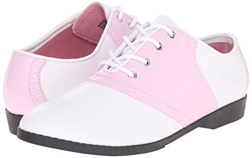 b Pu Oxford wht Pink Pleaser Mujer Para Pink 50 Saddle EwqzY