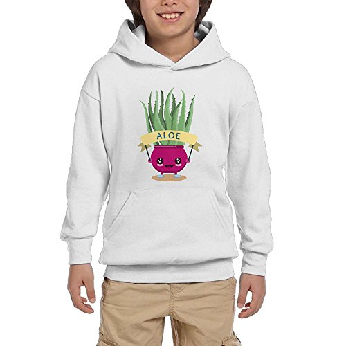 Aloe Pot Culture Cute Youth Pullover Hoodies Hip Hop Pockets Sweatsuit hot sale