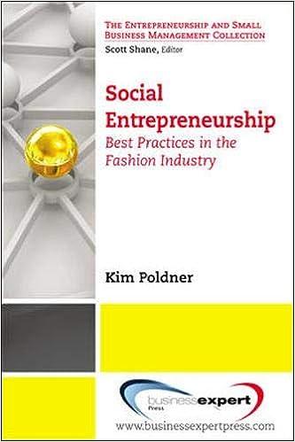 Social Entrepreneurship: Best Practices in the Fashion