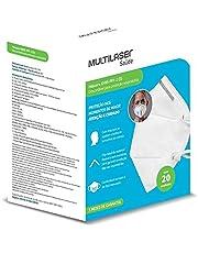 Mascara Kn95 Pff2 ANVISA/INMETRO Multilaser Saúde 20 Unidade