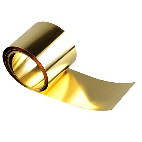 CuZn37 B /& T Metall Feuille de laiton de 2,0/mm d/épaisseur en MS63/ surface vide en d/écoupe