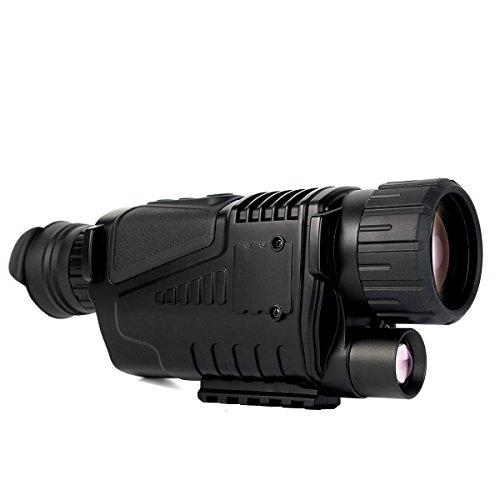 SVBONY Night Vision Monocular 5x40 Digital Monocular with Photo and Video storage Playback Function...
