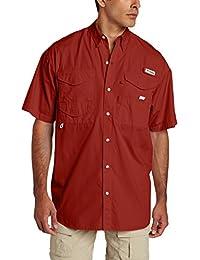 Amazon.com: Red - Casual Button-Down Shirts / Shirts: Clothing ...